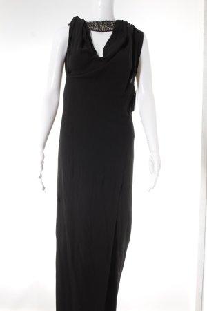 Joop! Abendkleid schwarz-silberfarben Elegant