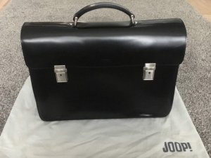 Joop! Porte-documents noir cuir