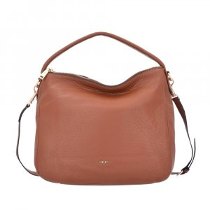 Joop! Athina Hobo Small, Nature Grain, Cognac 703, Leder!NEU!