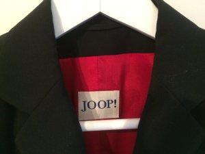 Joop Blazer schwarz, Gr. 36, rotes Futter