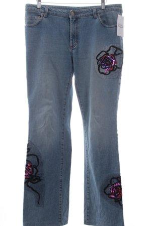 Joop! Boot Cut Jeans blau Street-Fashion-Look