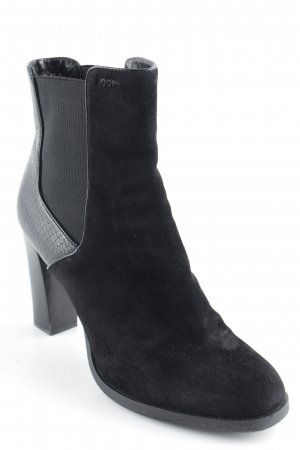 Joop! Booties schwarz Business-Look