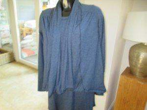 Joop Cardigan Jacke Oberteil blau und grau Gr. M