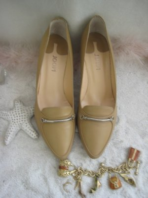 Joop ´´Coole Natur Nude Big Business Anlass Pumps  NP 169 € Neu