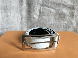Joop! Leather Belt white leather