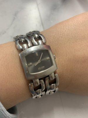 Joop! Reloj con pulsera metálica color plata-negro