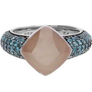 Joop! Zilveren ring veelkleurig