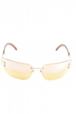 Joop! eckige Sonnenbrille braun-blassgelb Casual-Look