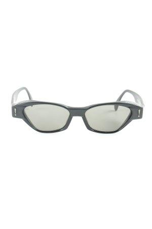 Joop! Hoekige zonnebril zwart simpele stijl