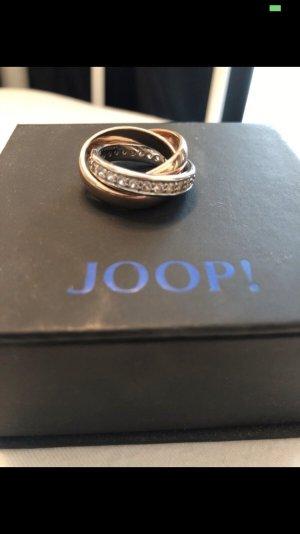 Joop! Gouden ring roségoud-zilver