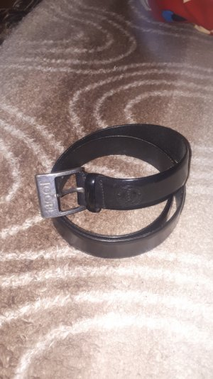 Joop! Cinturón negro-color plata