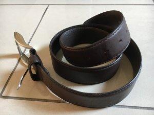 JOOP! Gürtel Damen Herren Unisex Ledergürtel braun Handmade in Italy Gr.90 NP 109€