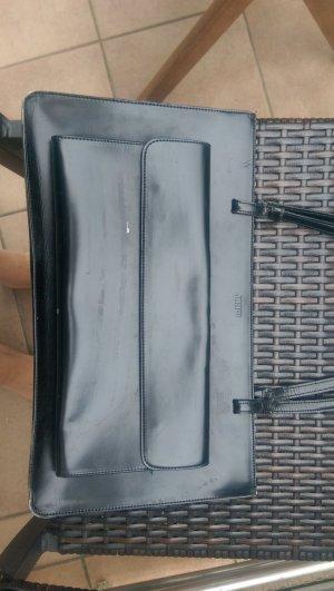 Joop Handtasche aus schwarzem Lackleder
