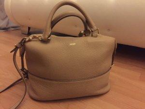 JOOP! Handtasche in nude/beige mit gold