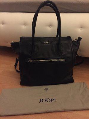 JOOP! Handtasche in schwarz mit silber