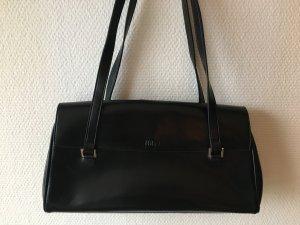 Joop Handtasche schwarzes Glattleder