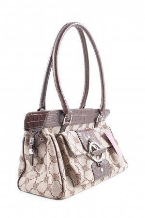 Joop! Carry Bag brown-beige flower pattern casual look