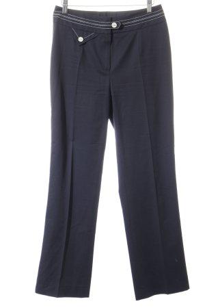 Joop! Pantalón de cintura alta blanco-negro elegante