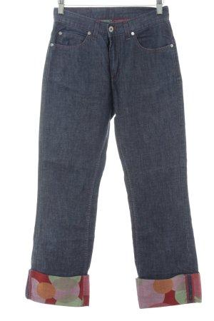 Joop! Jeans Vaquero holgados azul oscuro-rojo Botones de metal