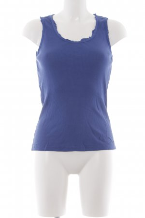 Joop! Jeans Basic Top blau Casual-Look