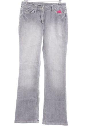 Joop! Jeans Boot Cut Jeans grau-hellgrau Casual-Look