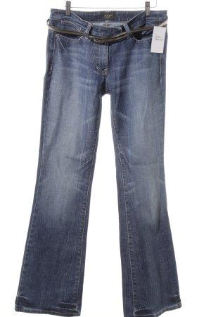 Joop! Jeans Boot Cut Jeans kornblumenblau Street-Fashion-Look