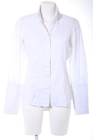 Joop! Jeans Hemd-Bluse weiß Business-Look
