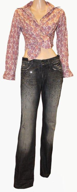 Joop! Jeans Jeans boyfriend noir-argenté coton
