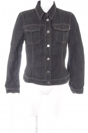 Joop! Jeans Jeansjacke schwarz-anthrazit Casual-Look