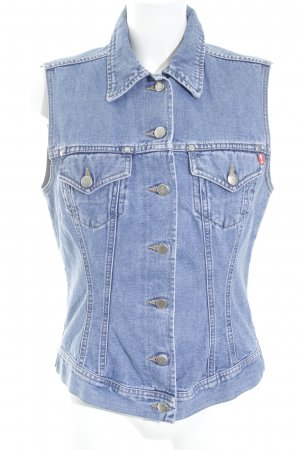 Joop! Jeans Denim Vest light blue-natural white retro look