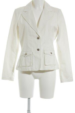 Joop! Jeans Kurz-Blazer weiß-wollweiß Casual-Look