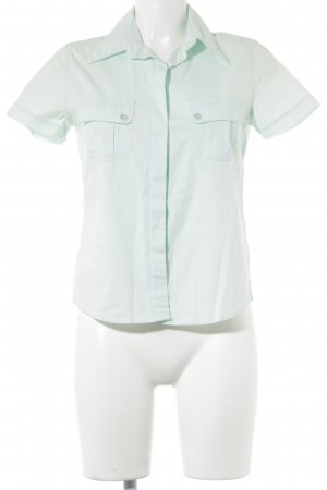 Joop! Jeans Kurzarm-Bluse mint Casual-Look
