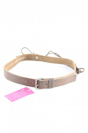 Joop! Jeans Leather Belt grey brown-green grey Boho look