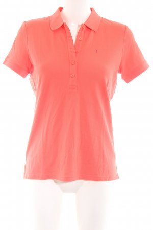 Joop! Jeans Polo-Shirt hellorange Casual-Look