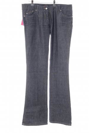 Joop! Jeans Straight-Leg Jeans hellgrau-blau meliert Casual-Look