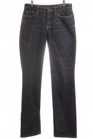 Joop! Jeans Straight-Leg Jeans dunkelblau meliert Casual-Look