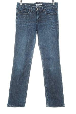 Joop! Jeans Straight-Leg Jeans dunkelblau schlichter Stil