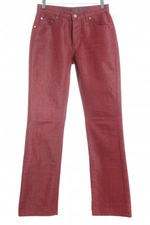 Joop! Jeans Straight Leg Jeans dark red casual look