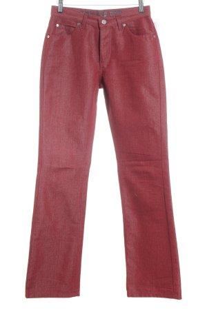 Joop! Jeans Straight-Leg Jeans dunkelrot Casual-Look