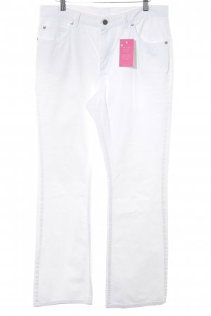 Joop! Jeans Jeans met rechte pijpen wit Boho uitstraling