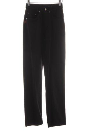 Joop! Jeans Stretchhose schwarz-braun Karomuster Casual-Look