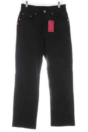 Joop! Jeans Stretchhose schwarz schlichter Stil