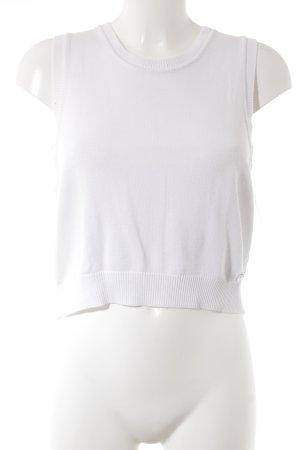 Joop! Jeans Haut tricotés blanc style décontracté