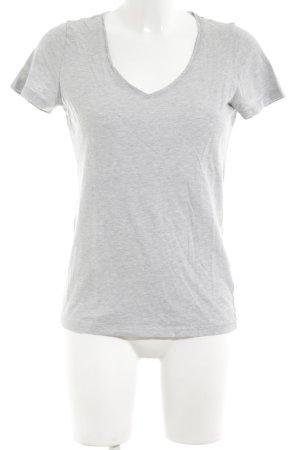Joop! Jeans T-Shirt hellgrau meliert Casual-Look