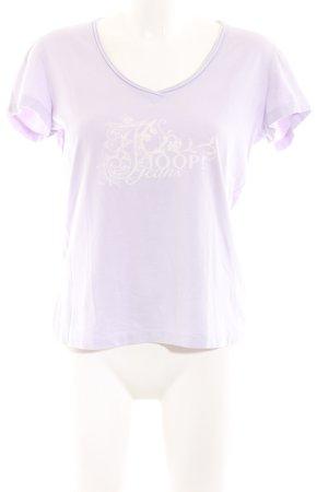 Joop! Jeans V-Ausschnitt-Shirt pink Casual-Look