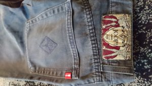 Joop! Jeanshose in Grau Gr. 38 - vintage