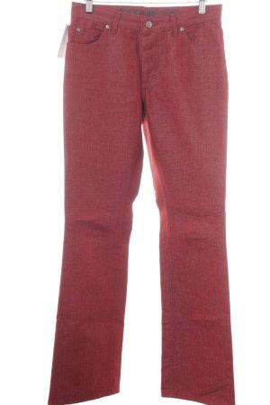 Joop! Jeansschlaghose dunkelrot Jeans-Optik