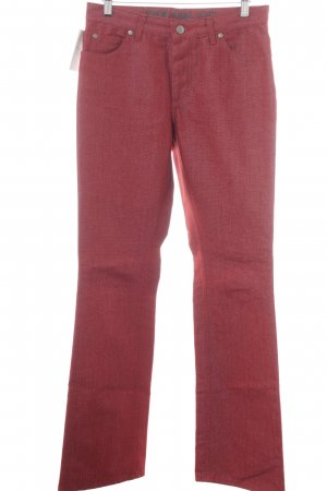 Joop! Jeans a zampa d'elefante rosso scuro stile jeans