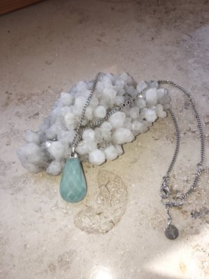 Joop! Silver Chain turquoise-light blue