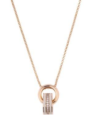 Joop! Collar color plata-color rosa dorado